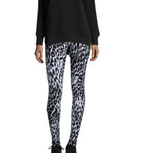 BLURRY Leopard- Print Activewear Leggings